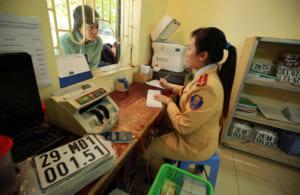 Thủ tục cấp đăng ký, biển số xe