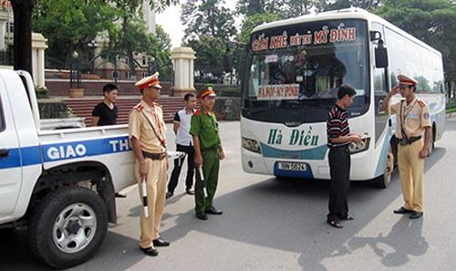 xử phạt hành chính trong lĩnh vực giao thông đường bộ