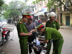 xử phạt vi phạm giao thông của công an cấp xã