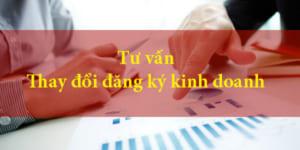 Dịch vụ thay đổi đăng ký kinh doanh uy tín cho doanh nghiệp